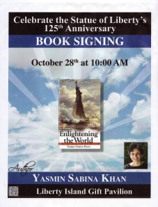 Enlightening the World book signing for the Statue of Liberty's 125th anniversary