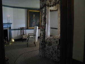 Lafayette's Room at Mount Vernon