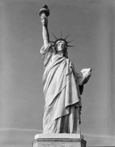 Statue of Liberty, designed by Auguste Bartholdi, in Carol Harrison's Opinion piece Dr. Lefebvre's American Dream about Edouard Laboulaye