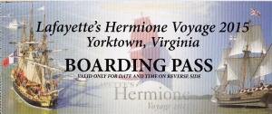Hermione-Lafayette tour ticket