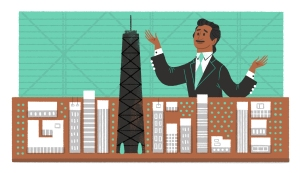 Google Doodle for Fazlur Khan